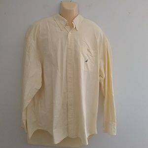 Nautica Long Sleeve Men's Button Up Size XXL